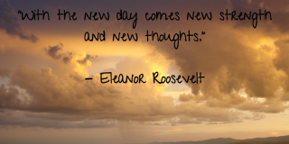 New thoughts Roosevelt