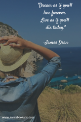 Dream as if you.James Dean